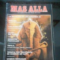 Coleccionismo de Revista Más Allá: REVISTA MAS ALLA Nº 18 AGOSTO 1990. Lote 57071956