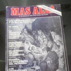 Coleccionismo de Revista Más Allá: REVISTA MAS ALLA Nº 22 DICIEMBRE 1990. Lote 57072089