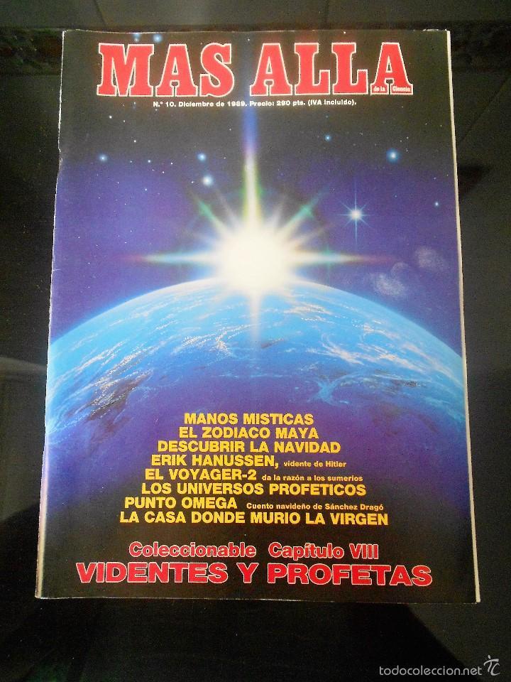 REVISTA MAS ALLA Nº 10 DICIEMBRE 1989 (Coleccionismo - Revistas y Periódicos Modernos (a partir de 1.940) - Revista Más Allá)