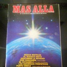 Coleccionismo de Revista Más Allá: REVISTA MAS ALLA Nº 10 DICIEMBRE 1989. Lote 57072496