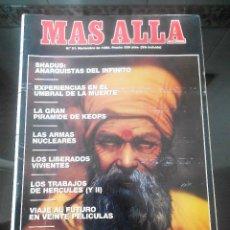 Coleccionismo de Revista Más Allá: REVISTA MAS ALLA Nº 21 NOVIEMBRE 1990. Lote 57073262