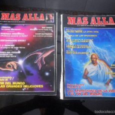 Coleccionismo de Revista Más Allá: REVISTA MAS ALLA Nº 5 JULIO 1989 Y Nº 11 ENERO 1990. Lote 57073352