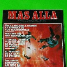 Coleccionismo de Revista Más Allá: MAS ALLÁ Nº 34 DE 1991 CON 16 PÁGINAS DEDICADAS AL PEPLUM Y CINE HISTÓRICO. Lote 57165413