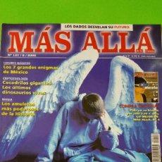 Coleccionismo de Revista Más Allá: MAS ALLÁ Nº 157 DE 2002 ÁNGELES Y REPORTAJE ESPECIAL SOBRE MOTHMAN. Lote 57165652