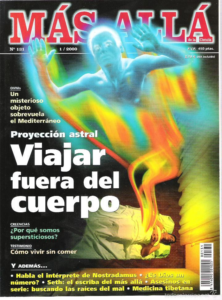 REVISTA MAS ALLA (Coleccionismo - Revistas y Periódicos Modernos (a partir de 1.940) - Revista Más Allá)