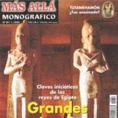 Coleccionismo de Revista Más Allá: MÁS ALLÁ DE LA CIENCIA - MONOGRÁFICO Nº 39/1/2002 GRANDES MISTERIOS DE LOS FARAONES - MC EDICIONES.. Lote 58976150
