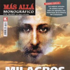 Coleccionismo de Revista Más Allá: MAS ALLA MONOGRAFICO N. 80 - MILAGROS DE LA IGLESIA (NUEVA). Lote 176644639