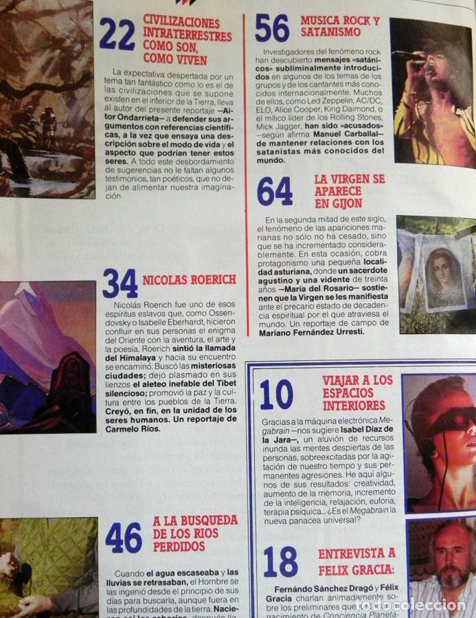 Coleccionismo de Revista Más Allá: MAS ALLÁ REVISTA - Nº 15 EXTRA - C. PLANETARIA - ENTREVISTA A ANTONIO RIBERA OVNIS MISTERIO UFOLOGÍA - Foto 2 - 62189388