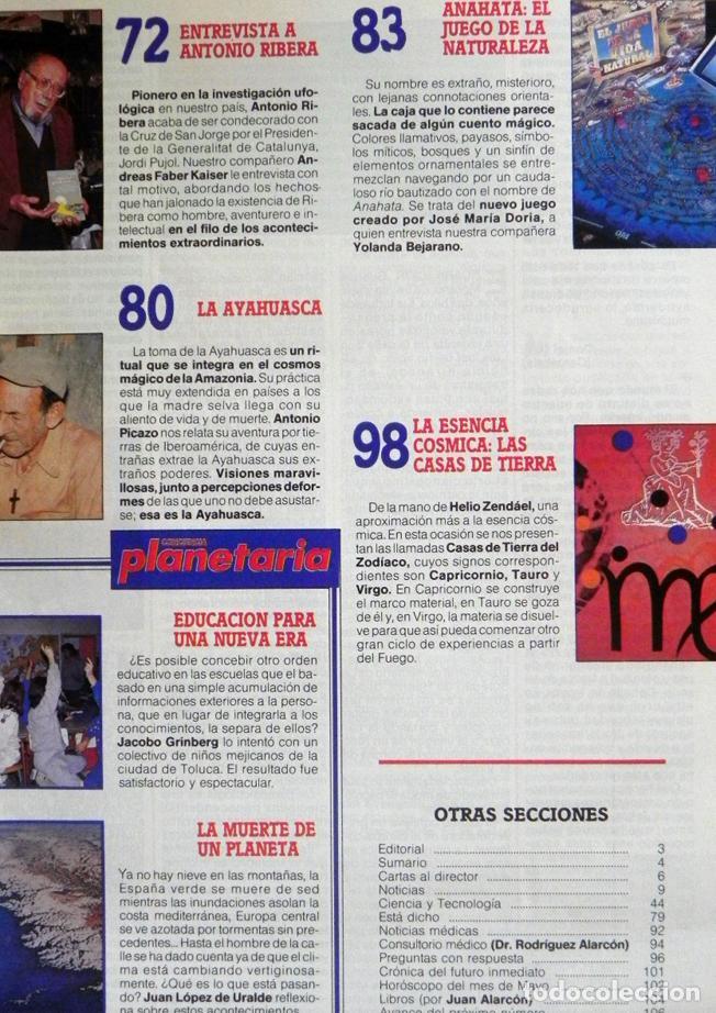 Coleccionismo de Revista Más Allá: MAS ALLÁ REVISTA - Nº 15 EXTRA - C. PLANETARIA - ENTREVISTA A ANTONIO RIBERA OVNIS MISTERIO UFOLOGÍA - Foto 3 - 62189388