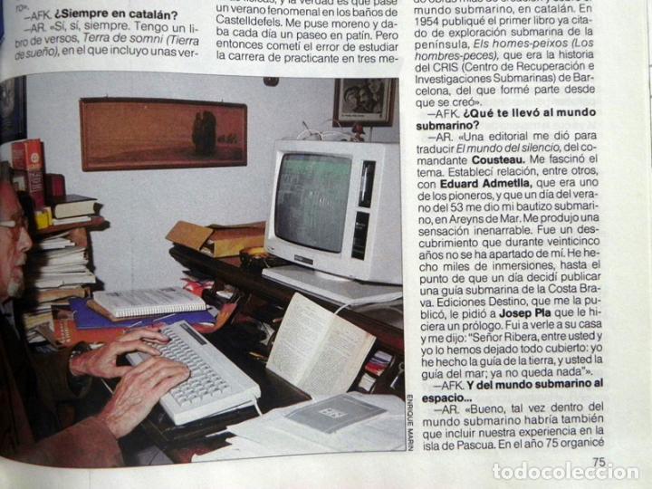 Coleccionismo de Revista Más Allá: MAS ALLÁ REVISTA - Nº 15 EXTRA - C. PLANETARIA - ENTREVISTA A ANTONIO RIBERA OVNIS MISTERIO UFOLOGÍA - Foto 4 - 62189388