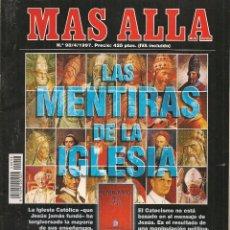 Collectionnisme de Magazine Más Allá: REVISTA: MÁS ALLÁ. Nº 98. ABRIL1997. (ST/). Lote 64431695
