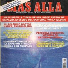 Collezionismo di Rivista Más Allá: REVISTA: MÁS ALLÁ. Nº 101. CON COLECCIONABLE. JULIO 1997. (ST/). Lote 64437743