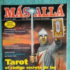 Collectionnisme de Magazine Más Allá: REVISTA MAS ALLA ,Nº 121 AÑO 1999 , TAROT ,EL CODIGO SECRETO DE LOS TEMPLARIOS -PALMAR DE TROYA ,. Lote 69890029