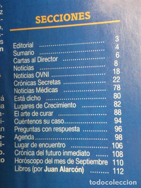 Coleccionismo de Revista Más Allá: REVISTA MAS ALLA Nº 67 AÑO 1994 , LUGARES DE CRECIMIENTO -CAMARA HOLOGRAFICA -JUGAR CON FUEGO - Foto 2 - 69891845