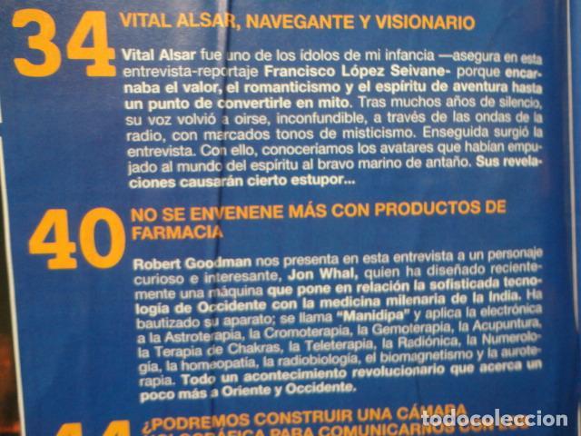 Coleccionismo de Revista Más Allá: REVISTA MAS ALLA Nº 67 AÑO 1994 , LUGARES DE CRECIMIENTO -CAMARA HOLOGRAFICA -JUGAR CON FUEGO - Foto 4 - 69891845