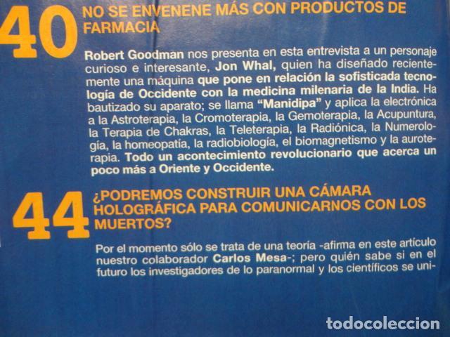 Coleccionismo de Revista Más Allá: REVISTA MAS ALLA Nº 67 AÑO 1994 , LUGARES DE CRECIMIENTO -CAMARA HOLOGRAFICA -JUGAR CON FUEGO - Foto 5 - 69891845