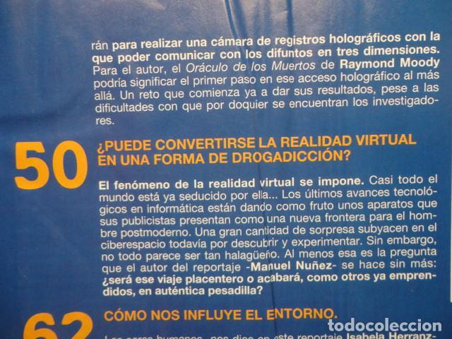 Coleccionismo de Revista Más Allá: REVISTA MAS ALLA Nº 67 AÑO 1994 , LUGARES DE CRECIMIENTO -CAMARA HOLOGRAFICA -JUGAR CON FUEGO - Foto 6 - 69891845