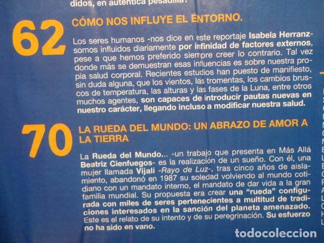 Coleccionismo de Revista Más Allá: REVISTA MAS ALLA Nº 67 AÑO 1994 , LUGARES DE CRECIMIENTO -CAMARA HOLOGRAFICA -JUGAR CON FUEGO - Foto 7 - 69891845