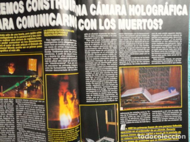 Coleccionismo de Revista Más Allá: REVISTA MAS ALLA Nº 67 AÑO 1994 , LUGARES DE CRECIMIENTO -CAMARA HOLOGRAFICA -JUGAR CON FUEGO - Foto 15 - 69891845