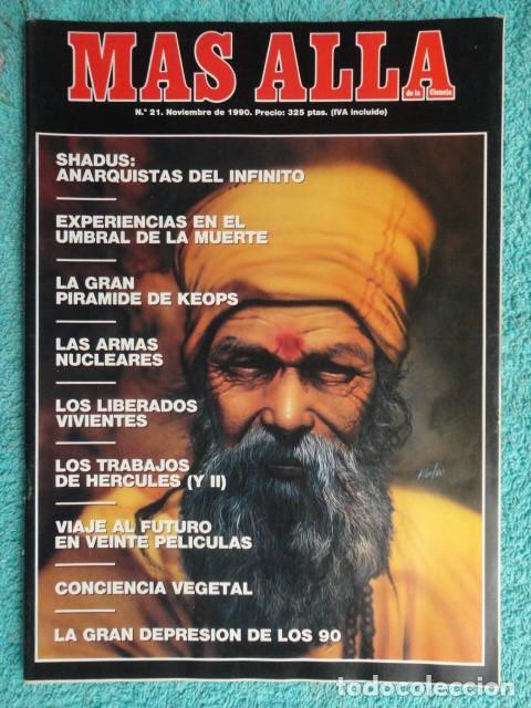 REVISTA MAS ALLA Nº 21 AÑO 1990 ,LA GRAN PIRAMIDE DE KEOPS - LAS ARMAS NUCLEARES -VIVIR O MORIR (Coleccionismo - Revistas y Periódicos Modernos (a partir de 1.940) - Revista Más Allá)