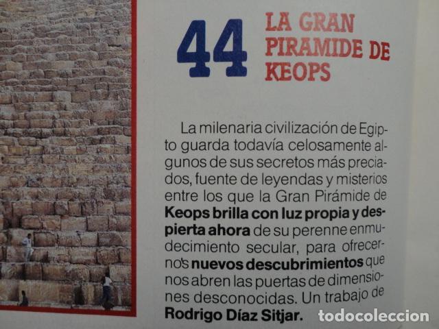 Coleccionismo de Revista Más Allá: REVISTA MAS ALLA Nº 21 AÑO 1990 ,LA GRAN PIRAMIDE DE KEOPS - LAS ARMAS NUCLEARES -VIVIR O MORIR - Foto 4 - 69892165