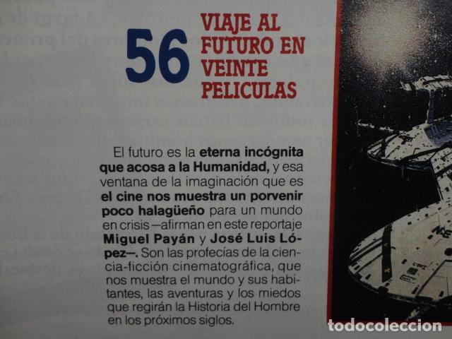 Coleccionismo de Revista Más Allá: REVISTA MAS ALLA Nº 21 AÑO 1990 ,LA GRAN PIRAMIDE DE KEOPS - LAS ARMAS NUCLEARES -VIVIR O MORIR - Foto 5 - 69892165
