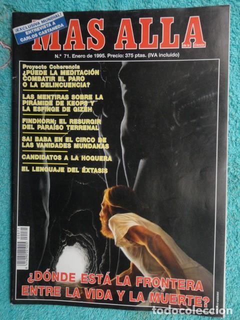 REVISTA MAS ALLA Nº 71 AÑO 1995 - LA PIRAMIDE DE KEOPS -LA MEDITACION - SAI BABA - VIDA Y MUERTE (Coleccionismo - Revistas y Periódicos Modernos (a partir de 1.940) - Revista Más Allá)