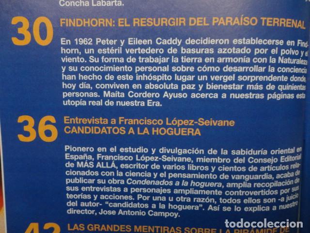 Coleccionismo de Revista Más Allá: REVISTA MAS ALLA Nº 71 AÑO 1995 - LA PIRAMIDE DE KEOPS -LA MEDITACION - SAI BABA - VIDA Y MUERTE - Foto 3 - 69892313