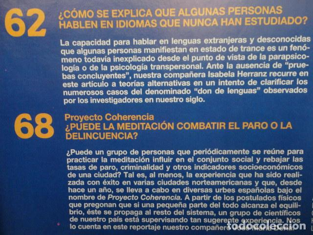 Coleccionismo de Revista Más Allá: REVISTA MAS ALLA Nº 71 AÑO 1995 - LA PIRAMIDE DE KEOPS -LA MEDITACION - SAI BABA - VIDA Y MUERTE - Foto 6 - 69892313