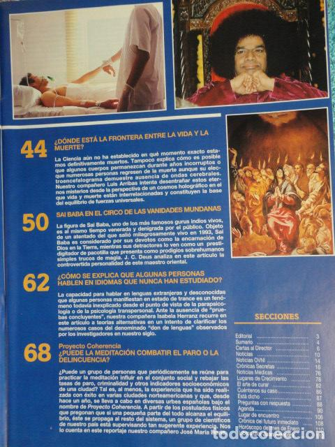 Coleccionismo de Revista Más Allá: REVISTA MAS ALLA Nº 71 AÑO 1995 - LA PIRAMIDE DE KEOPS -LA MEDITACION - SAI BABA - VIDA Y MUERTE - Foto 8 - 69892313