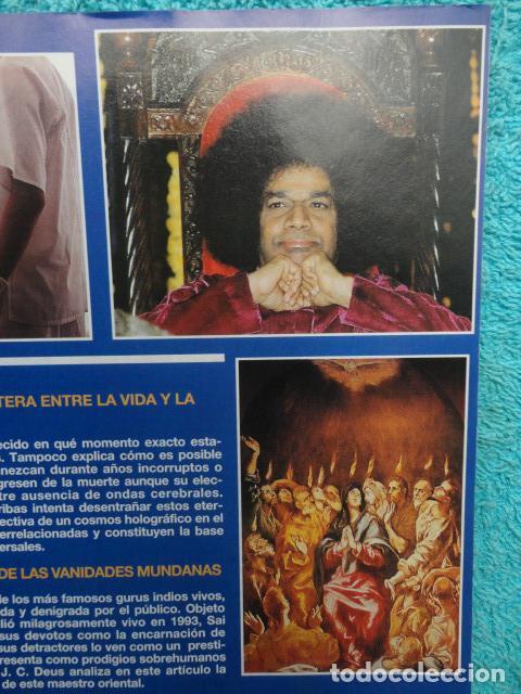 Coleccionismo de Revista Más Allá: REVISTA MAS ALLA Nº 71 AÑO 1995 - LA PIRAMIDE DE KEOPS -LA MEDITACION - SAI BABA - VIDA Y MUERTE - Foto 12 - 69892313
