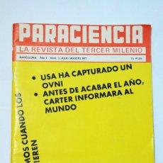 Coleccionismo de Revista Más Allá: PARACIENCIA Nº 3 1977 LA REVISTA DEL TERCER MILENIO MISTERIOS OVNIS PARAPSICOLOGÍA. Lote 70263377