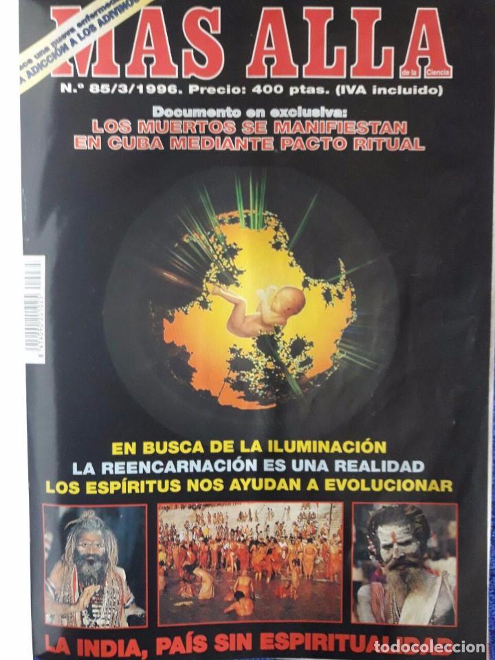 Coleccionismo de Revista Más Allá: TOMO ENCUADERNADO DE 12 EJEMPLARES DE LA REVISTA MAS ALLA / LA PRIMERA ES LA Nº 85 DE MARZO DE 1996 - Foto 2 - 71045989