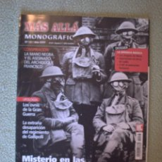 Coleccionismo de Revista Más Allá: MAS ALLA MONOGRAFICO Nº 73. Lote 71808675