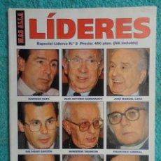 Coleccionismo de Revista Más Allá: MAS ALLA - LIDERES - ESPECIAL LIDERES , N. º 3 - 1.994. Lote 71847363