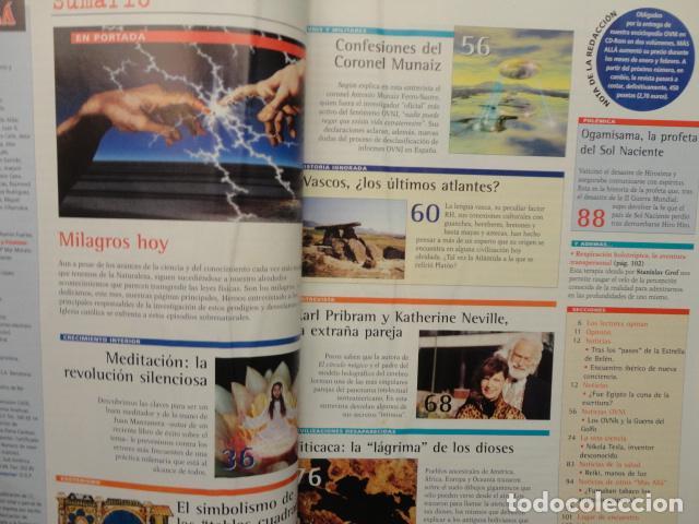 Coleccionismo de Revista Más Allá: REVISTA MAS ALLA N º 120 ,AÑO 1.999 - MILAGROS DE HOY - OVNIS - TABLAS MAGICAS - MEDITACION - Foto 2 - 72149615
