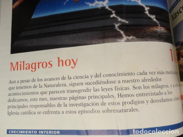 Coleccionismo de Revista Más Allá: REVISTA MAS ALLA N º 120 ,AÑO 1.999 - MILAGROS DE HOY - OVNIS - TABLAS MAGICAS - MEDITACION - Foto 3 - 72149615
