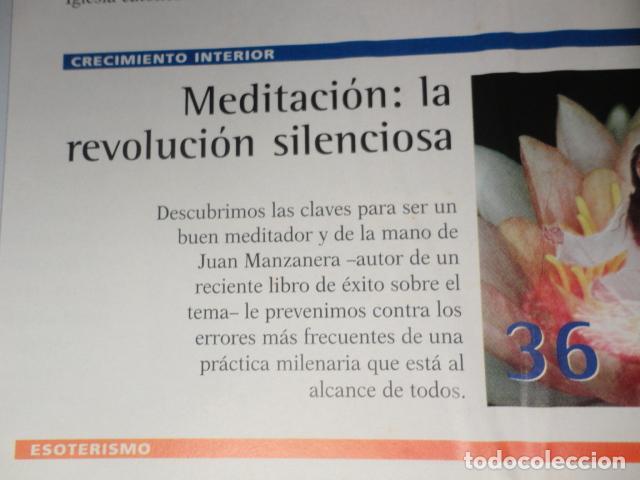 Coleccionismo de Revista Más Allá: REVISTA MAS ALLA N º 120 ,AÑO 1.999 - MILAGROS DE HOY - OVNIS - TABLAS MAGICAS - MEDITACION - Foto 4 - 72149615