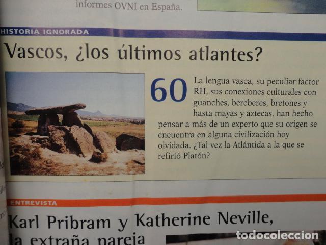 Coleccionismo de Revista Más Allá: REVISTA MAS ALLA N º 120 ,AÑO 1.999 - MILAGROS DE HOY - OVNIS - TABLAS MAGICAS - MEDITACION - Foto 7 - 72149615