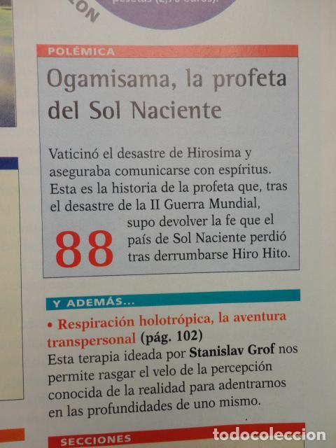 Coleccionismo de Revista Más Allá: REVISTA MAS ALLA N º 120 ,AÑO 1.999 - MILAGROS DE HOY - OVNIS - TABLAS MAGICAS - MEDITACION - Foto 10 - 72149615