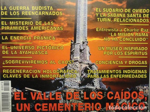 Coleccionismo de Revista Más Allá: REVISTA MAS ALLA , Nº 70 ,AÑO 1.994 - ESPECIAL NAVIDAD - EL VALLE DE LOS CAIDOS -CONCIENCIA Y DROGAS - Foto 2 - 72198867