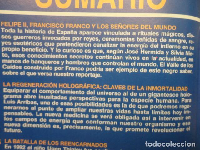 Coleccionismo de Revista Más Allá: REVISTA MAS ALLA , Nº 70 ,AÑO 1.994 - ESPECIAL NAVIDAD - EL VALLE DE LOS CAIDOS -CONCIENCIA Y DROGAS - Foto 3 - 72198867