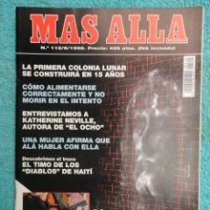 Coleccionismo de Revista Más Allá: REVISTA MAS ALLA ,Nº 112 ,AÑO 1.998 - LA SABANA SANTA ES AUTENTICA - LA NUEVA VOZ DE ALA. Lote 72202651