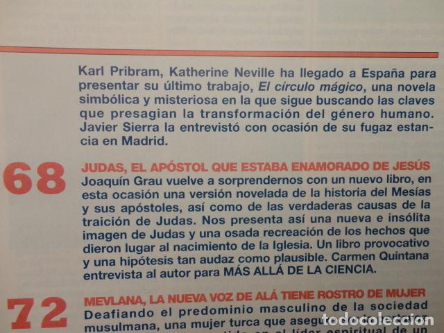 Coleccionismo de Revista Más Allá: REVISTA MAS ALLA ,Nº 112 ,AÑO 1.998 - LA SABANA SANTA ES AUTENTICA - LA NUEVA VOZ DE ALA - Foto 7 - 72202651