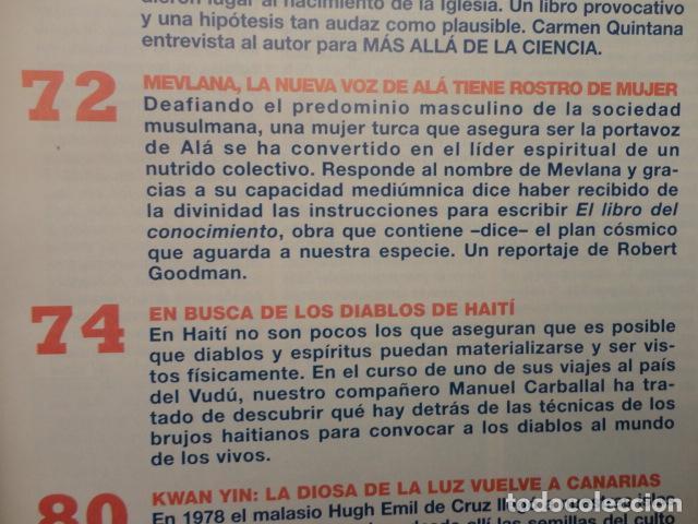 Coleccionismo de Revista Más Allá: REVISTA MAS ALLA ,Nº 112 ,AÑO 1.998 - LA SABANA SANTA ES AUTENTICA - LA NUEVA VOZ DE ALA - Foto 8 - 72202651