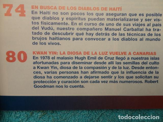Coleccionismo de Revista Más Allá: REVISTA MAS ALLA ,Nº 112 ,AÑO 1.998 - LA SABANA SANTA ES AUTENTICA - LA NUEVA VOZ DE ALA - Foto 9 - 72202651