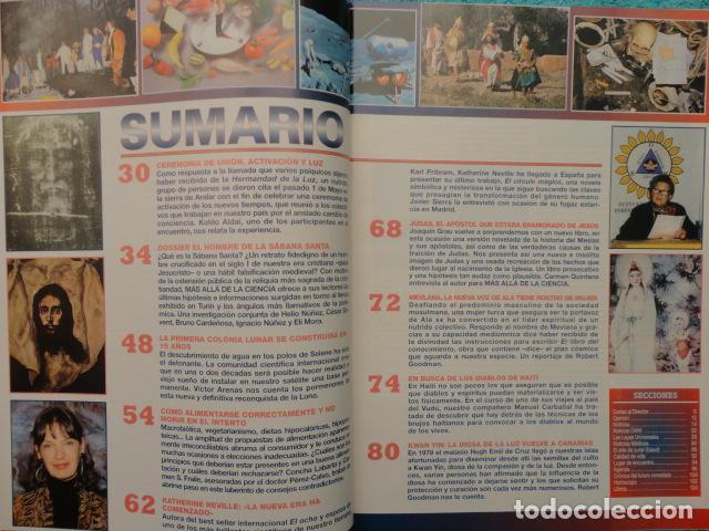 Coleccionismo de Revista Más Allá: REVISTA MAS ALLA ,Nº 112 ,AÑO 1.998 - LA SABANA SANTA ES AUTENTICA - LA NUEVA VOZ DE ALA - Foto 10 - 72202651