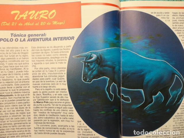 Coleccionismo de Revista Más Allá: REVISTA MAS ALLA , Nº 5 AÑO 1.995 - HOROSCOPO 1.995 , SIGNO A SIGNO - Foto 7 - 72205443