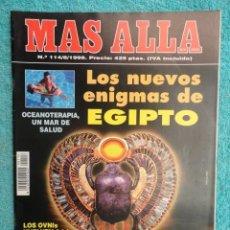 Coleccionismo de Revista Más Allá: REVISTA MAS ALLA ,Nº 114 ,AÑO 1.998 - LOS NUEVOS ENIGMAS DE EGIPTO - UN MAR DE SALUD. Lote 72207683