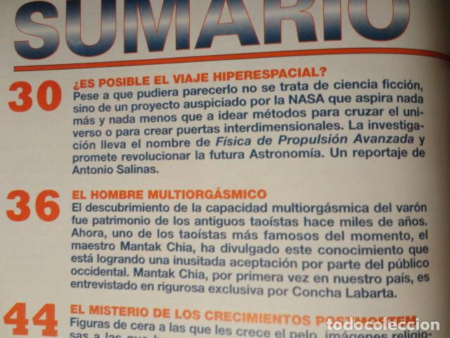Coleccionismo de Revista Más Allá: REVISTA MAS ALLA N º 109 ,AÑO 1.998 - VIAJE AL HIPERESPACIO - INCREIBLES SANACIONES -VICENTE FERRER - Foto 2 - 72228867